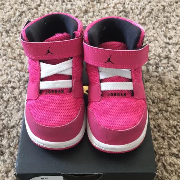 sports shoes b17ef dbe4f Pink Toddler Jordans - Jordan 1 Flight 4 GT